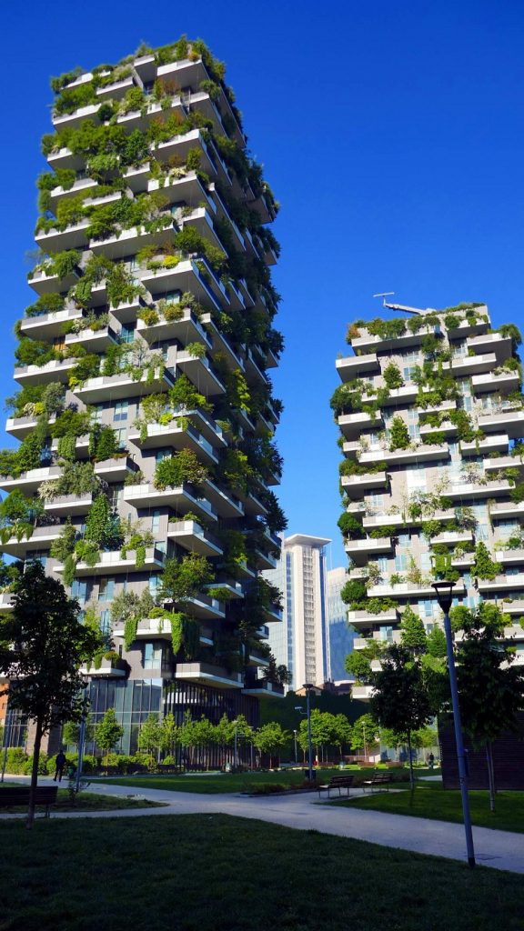Concept Vertical Forest của chung cư Sol Forest Ecopark 1