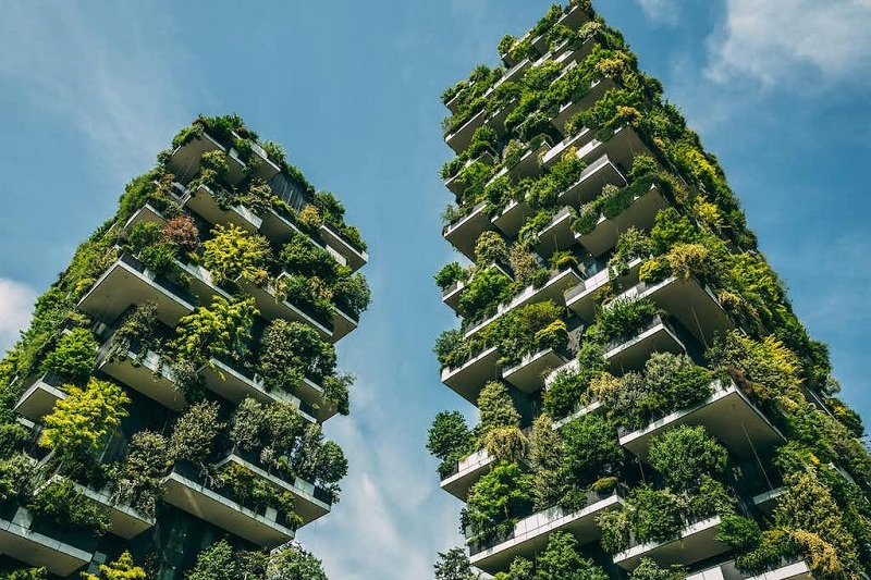 Concept Vertical Forest của chung cư Sol Forest Ecopark 2